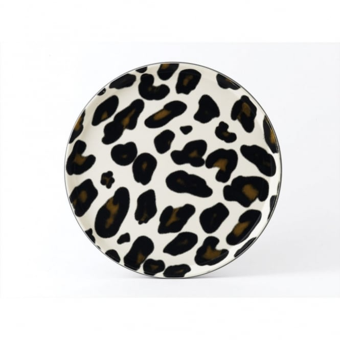 Round tray giraffe print 14 for Food bar giraffe