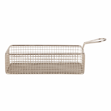 Chefs Rectangular long fry basket