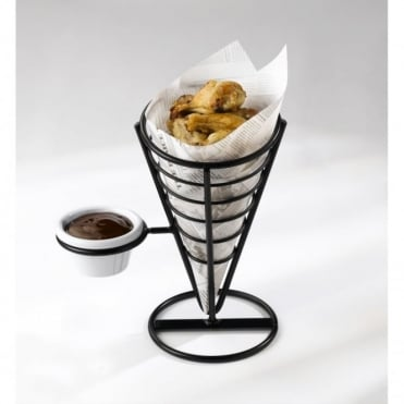 GenWare Wire Serving Cone (with dip)