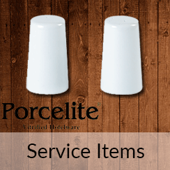 Porcelite Service Items