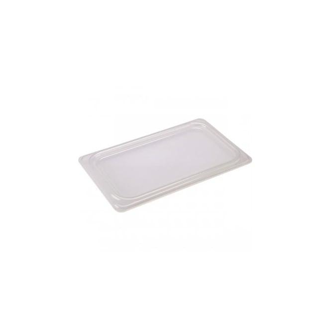 Genware 1/2 Polypropylene GN Lid Clear - Kitchenware