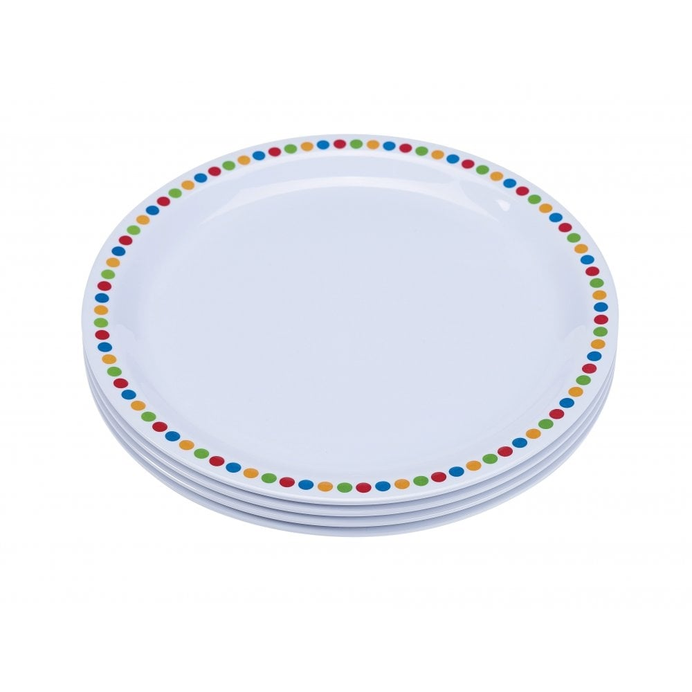 16cm Melamine Plates - Coloured Circles | Pack of 12  sc 1 st  Crosbys & Genware 16cm Melamine Plates - Coloured Circles | Pack of 12 | Crosbys