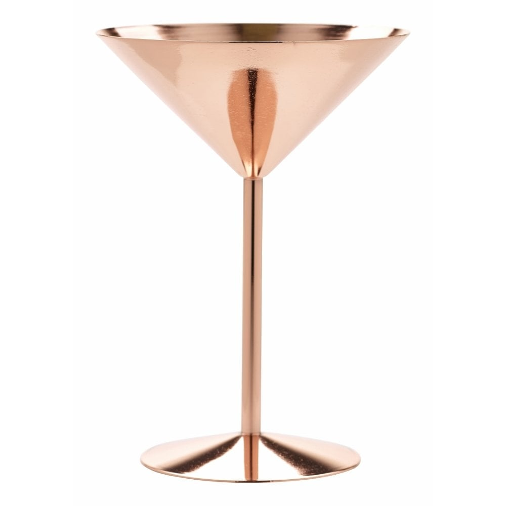 genware copper martini glass 240ml crosbys. Black Bedroom Furniture Sets. Home Design Ideas