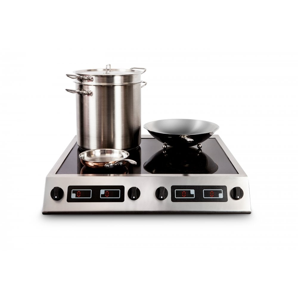 Induced Energy 7kW Four Zone Table Top Induction Hob