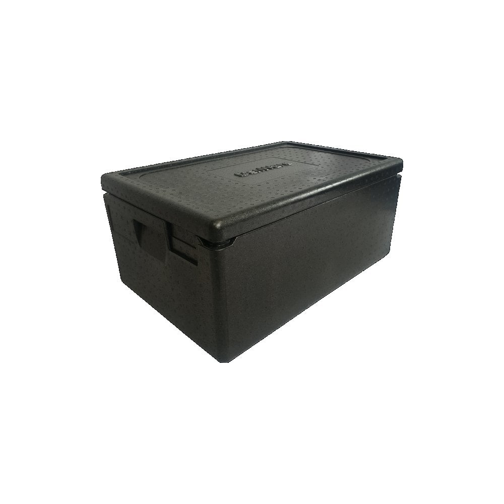 Genware GenWare Thermobox Boxer GN 1/1 Black 42Litre - Back Of House from Crosbys UK