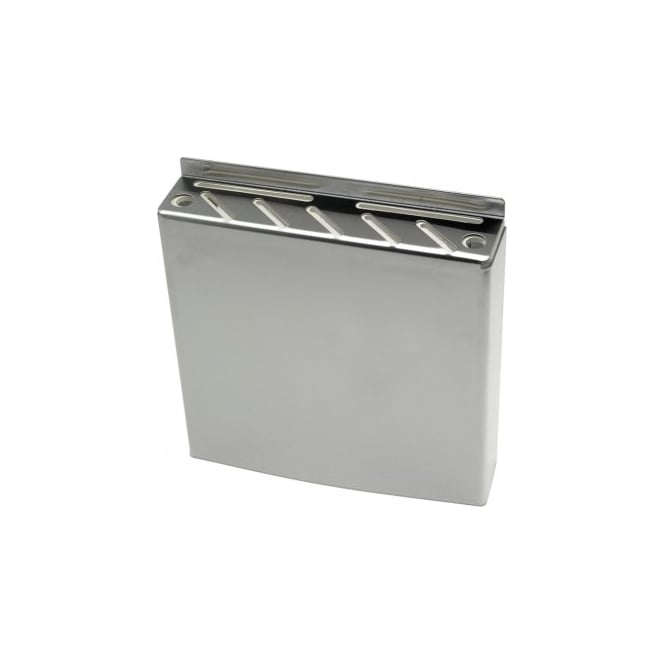 Genware Stainless Steel Knife Box