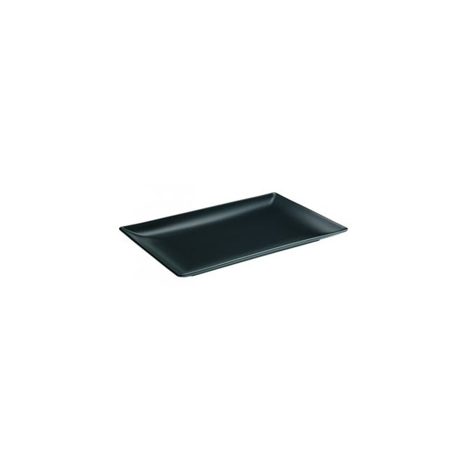 Royal Genware Stoneware Luna Rectangular Coupe Plate 30cm x 20cm | Pack of 6