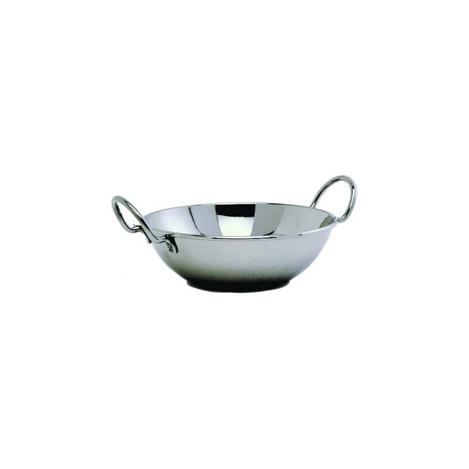 Genware Stainless Steel Balti Dish 15cm | Pack of 6
