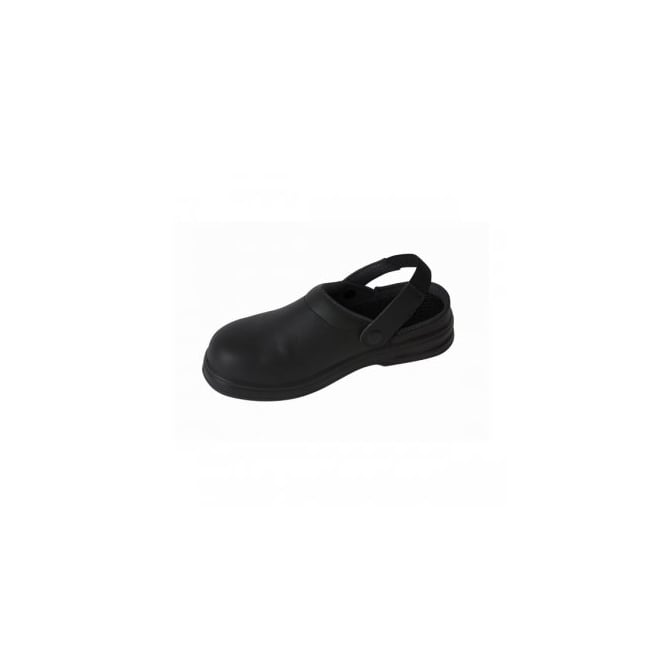 Professional Unisex Safety Clog Size 11 Black
