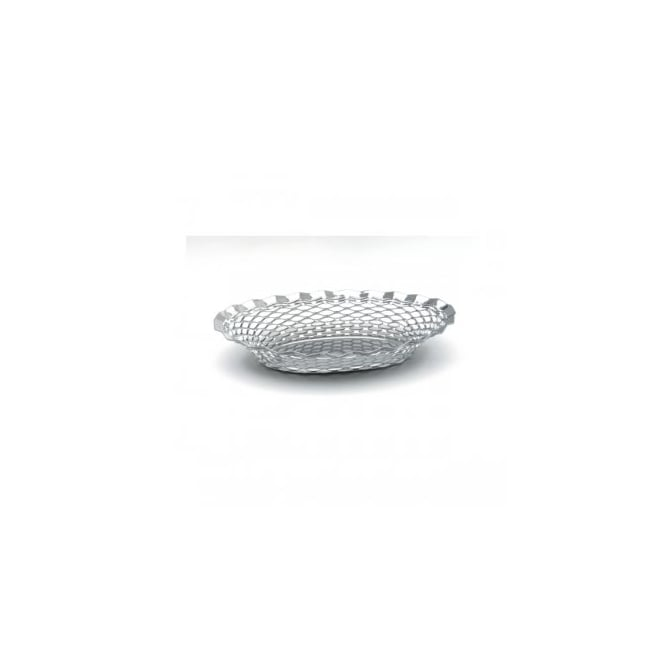 "Stainless Steel OVAL BASKET 11.3/4""x9.1/4"""