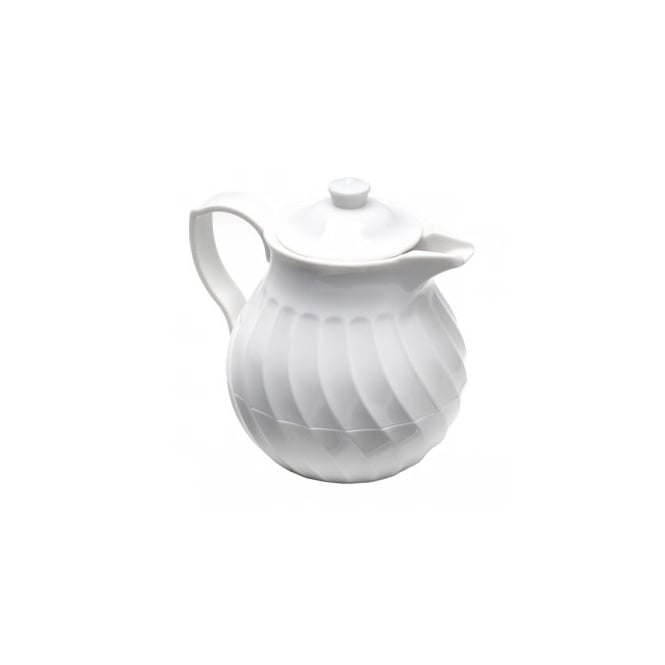 INSULATED TEAPOT WHITE 36oz 1ltr
