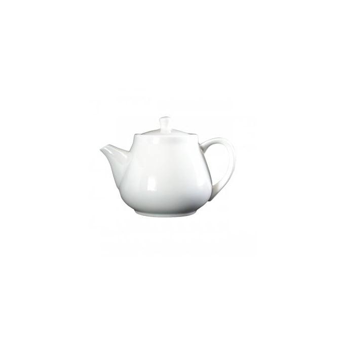 Royal Genware Fine China Traditional Teapot 45cl/16oz | Pack of 6