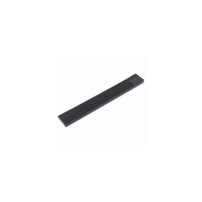 Bar Service Mat. Black. Rubber. Pack of 5. L457 x W304mm