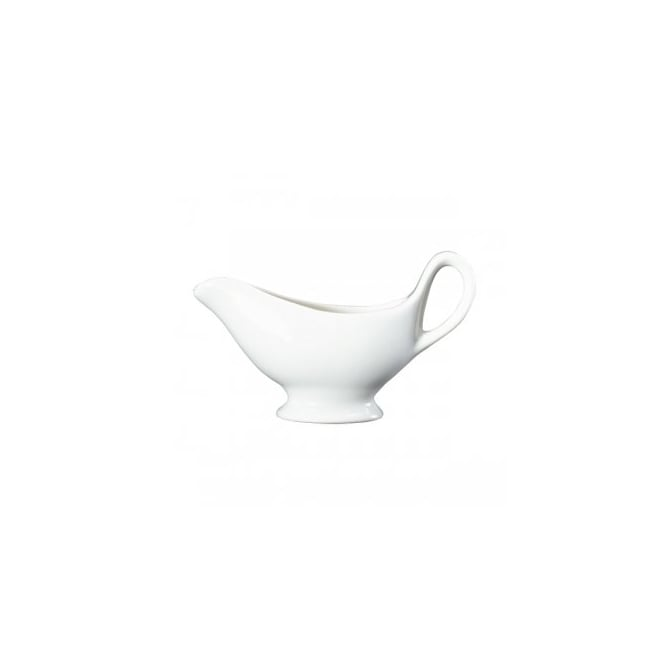 Royal Genware Fine China Sauce Boat 10cl/3oz | Pack of 4
