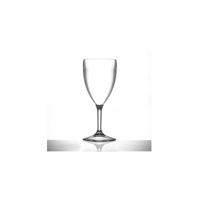 BB Plastics Elite Premium 398ml Polycarbonate Wine Glass | Pack of 12
