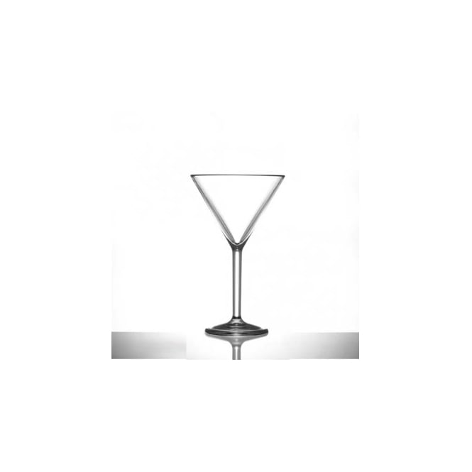 BB Plastics Elite Premium 199ml Polycarbonate Martini Glass | Pack of 12