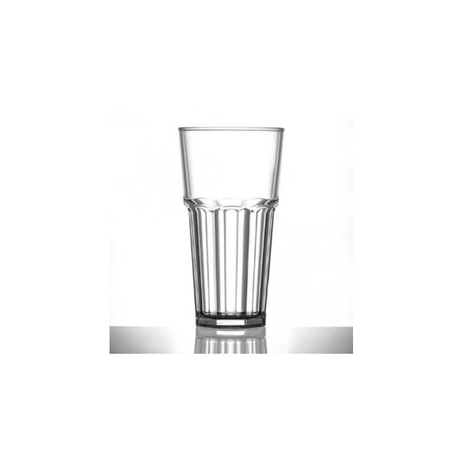 BB Plastics Elite Remedy 20oz Tall Polycarbonate Glass | Pack of 24