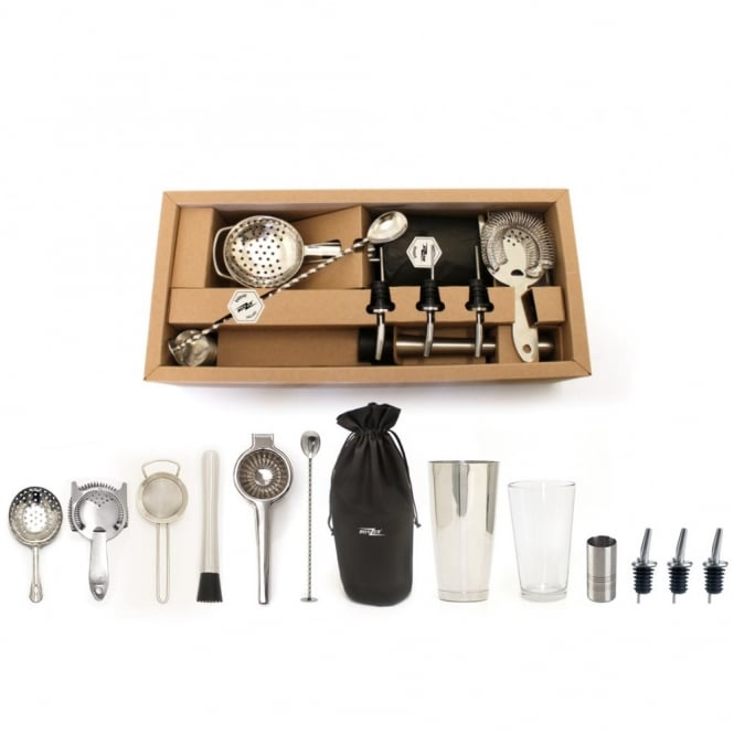 Bonzer Premium Cocktail Bar Kit | 13 Piece Kit