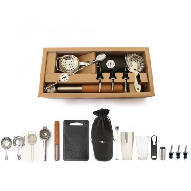 Bonzer Elite Cocktail Bar Kit | 15 Piece