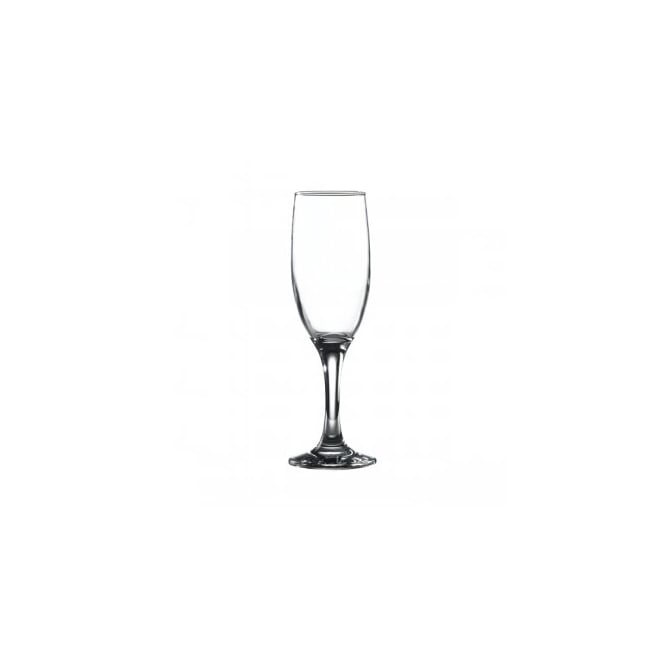 Genware Empire 190ml Flute Glass | Pack of 6