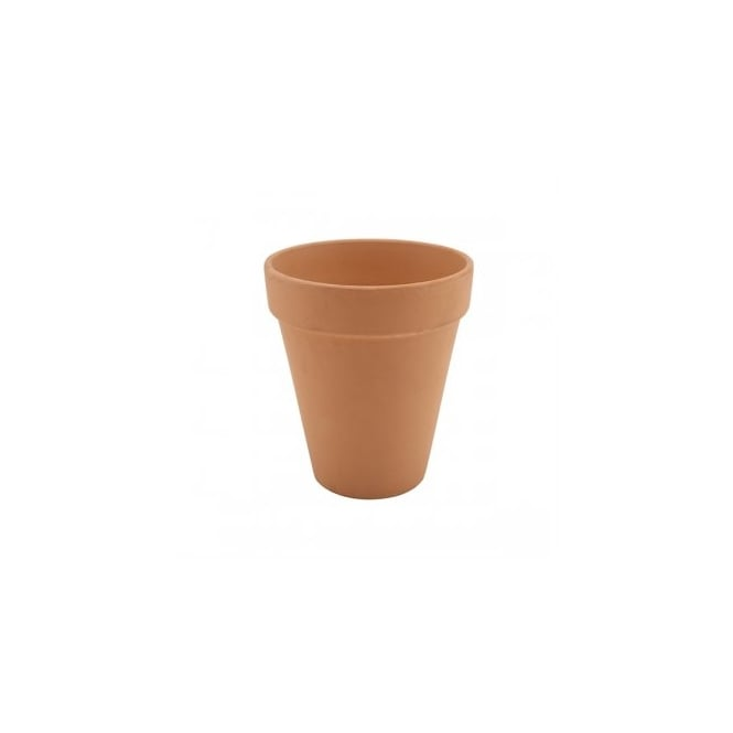 Genware Tall Terracotta Pot Rustic | Pack of 6