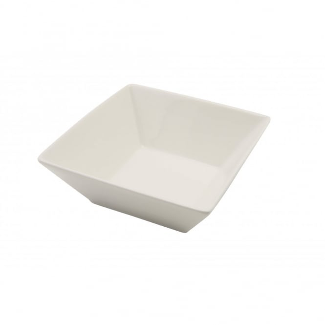 Royal Genware Fine China Large Square Bowl 15cm | Pack of 6