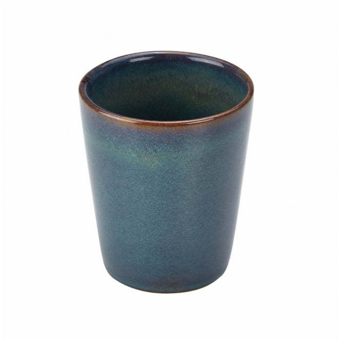 Royal Genware Rustic Green 8.5cm Conical Cup | Pack of 12