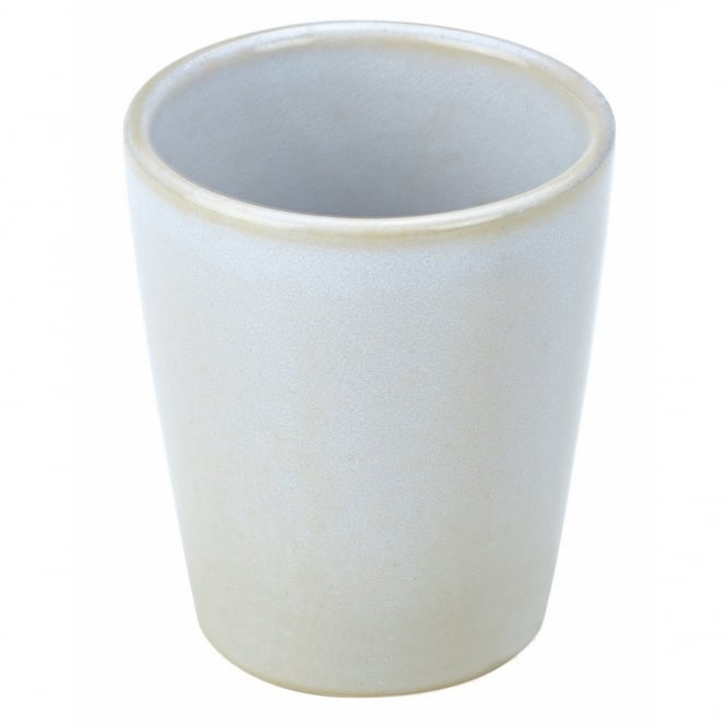 Royal Genware Rustic White 8.5cm Conical Cup | Pack of 12