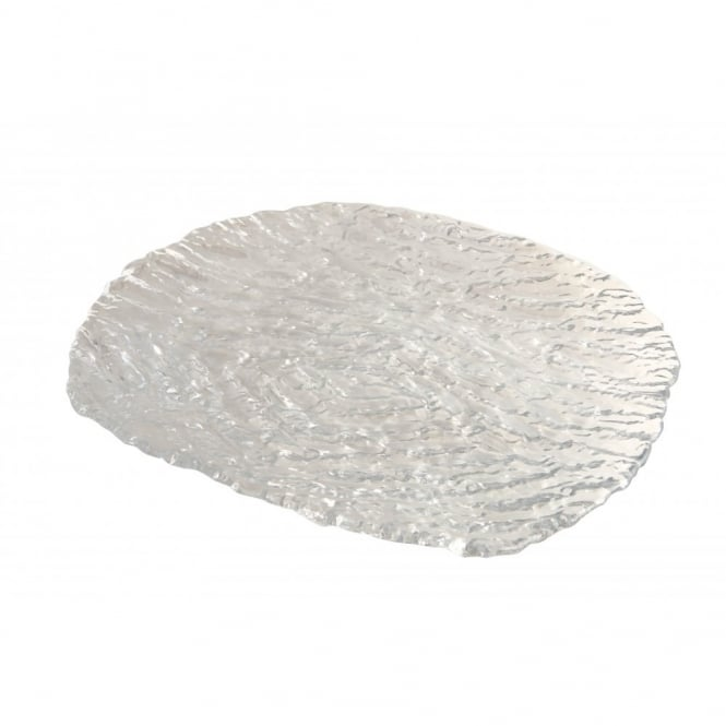 Genware 29cm Glacier Large Glass Plate | Pack of 6