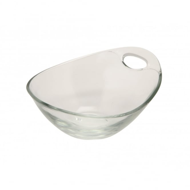 Genware 245ml Handled Glass Bowl | Pack of 6
