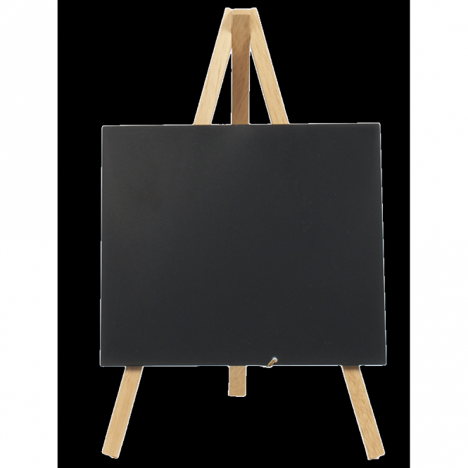 Mini Chalkboard Wood Easel 24cm x 11.5cm | Pack of 3