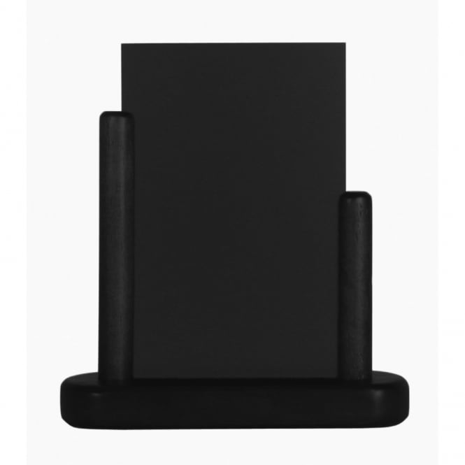 Genware A4 Black Table Chalk Board - Large