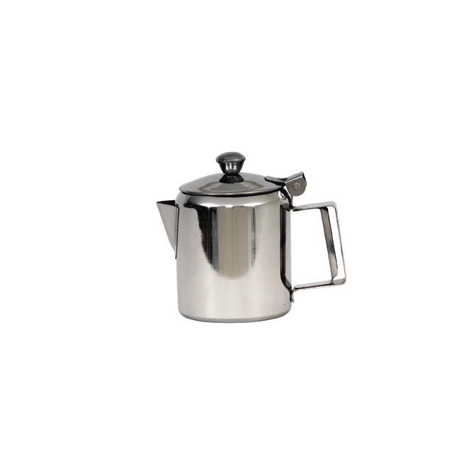 Genware Stainless Steel Mirror Coffee Pot 330ml 12oz