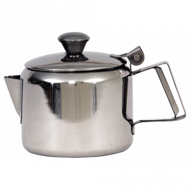 Genware Stainless Steel Mirror Tea Pot 500ml 16oz