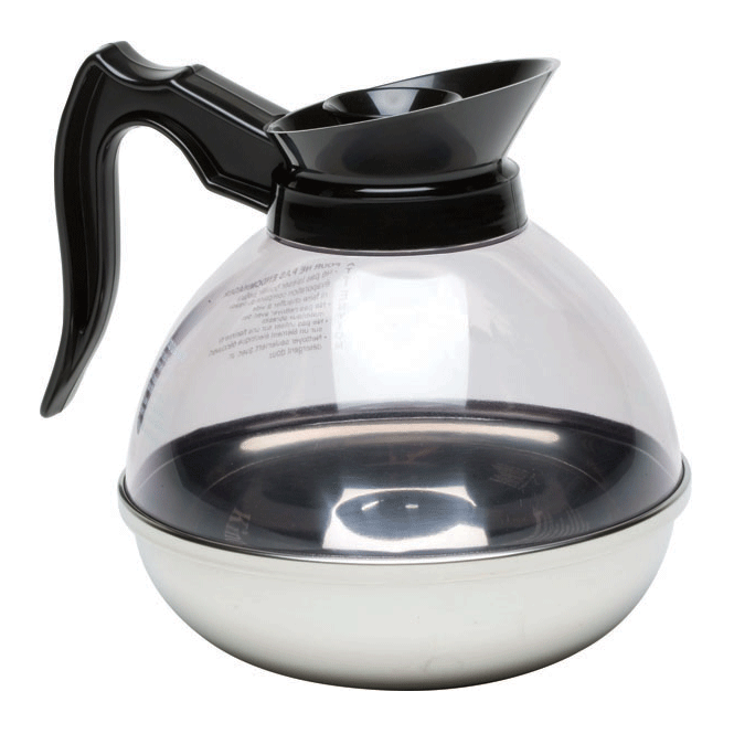 Genware Polycarbonate Shatterproof Coffee Decanter 1.9L 64oz
