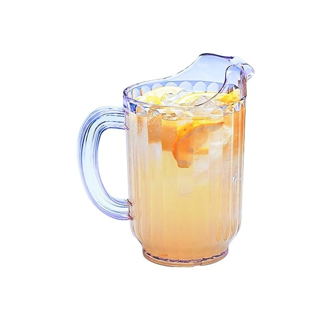 Genware Polycarbonate Pitcher 1.8L with Ice Trap