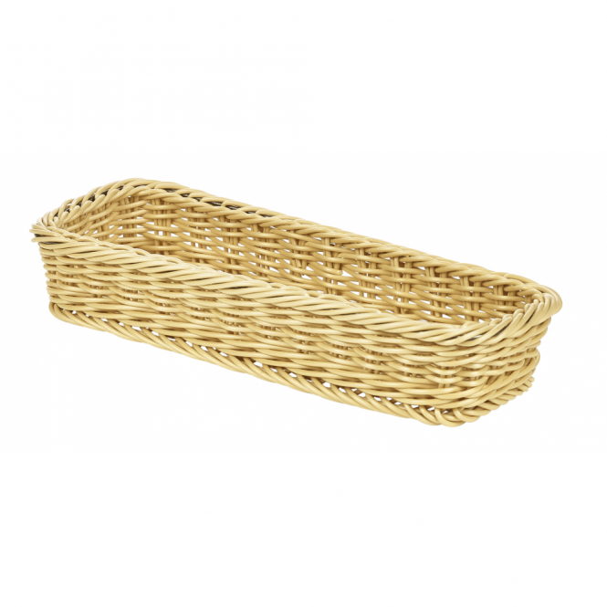 Genware Polywicker Display Basket 32cm x 11cm