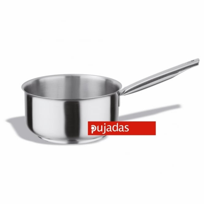 Pujadas Stainless Steel French Style Saucepan 16cm