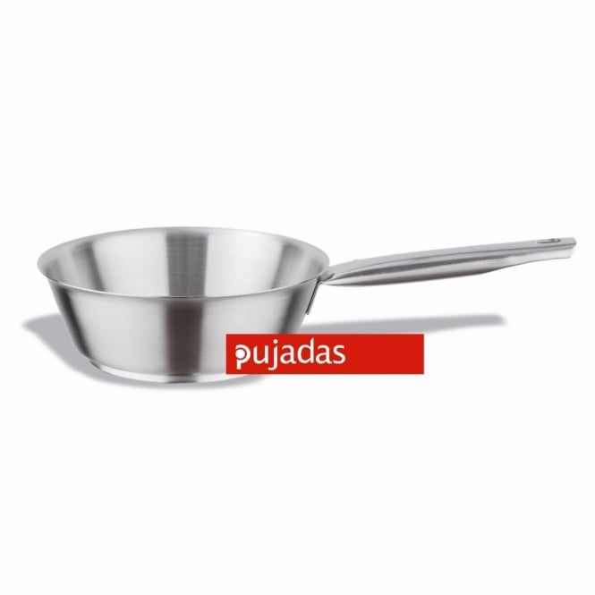 Pujadas Stainless Steel Conical Sauté Pan 20cm