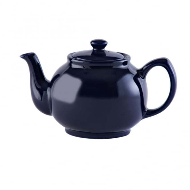 Price & Kensington Midnight Blue 6 Cup 39oz Teapot | Pack of 3