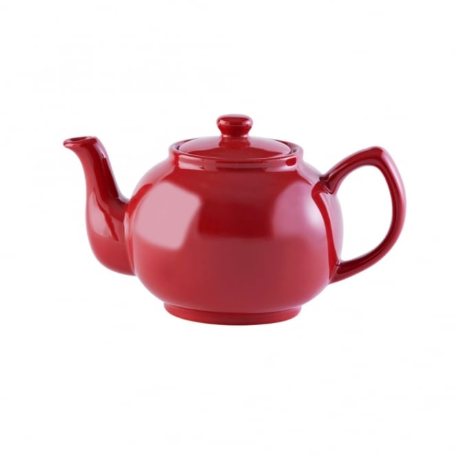 Price & Kensington Brights Red 6 Cup 39oz Teapot | Pack of 3