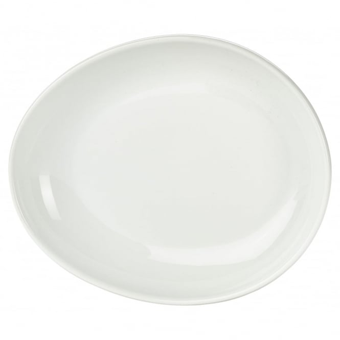 Genware Organic Collection 18.5cm Oval Plates | Pack of 6