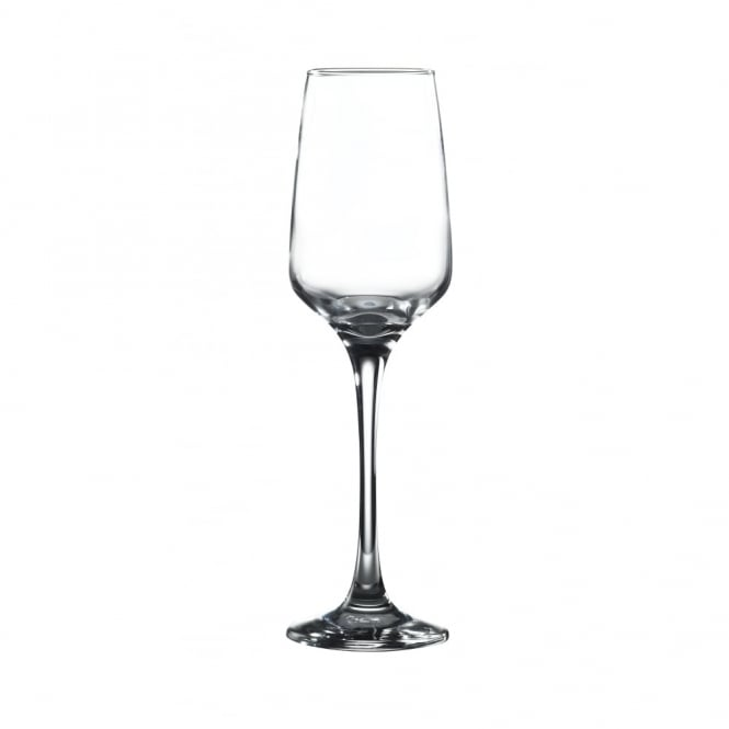 Genware Lal 225ml Flute Glass | Pack of 6
