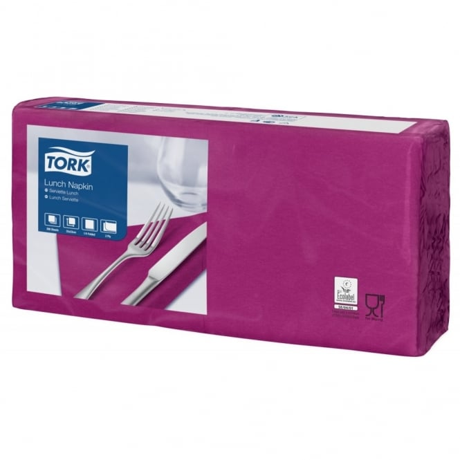 Tork Purple Lunch Napkin 477207 | Pack of 2000