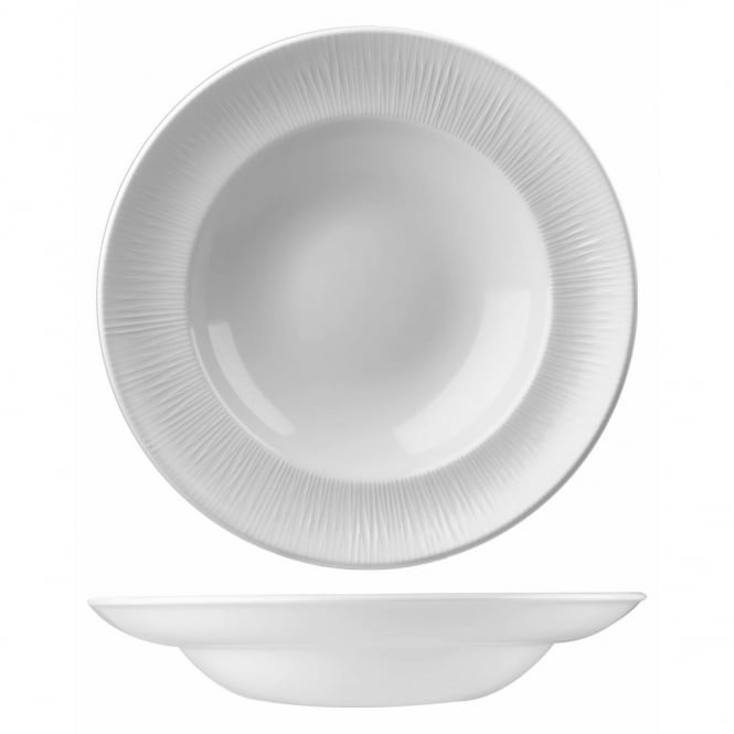 Churchill Super Vitrified Bamboo Pasta Plate 12