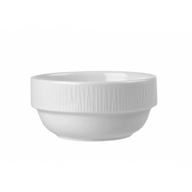 Churchill Super Vitrified Bamboo Stacking Bowl 10oz | Pack of 6