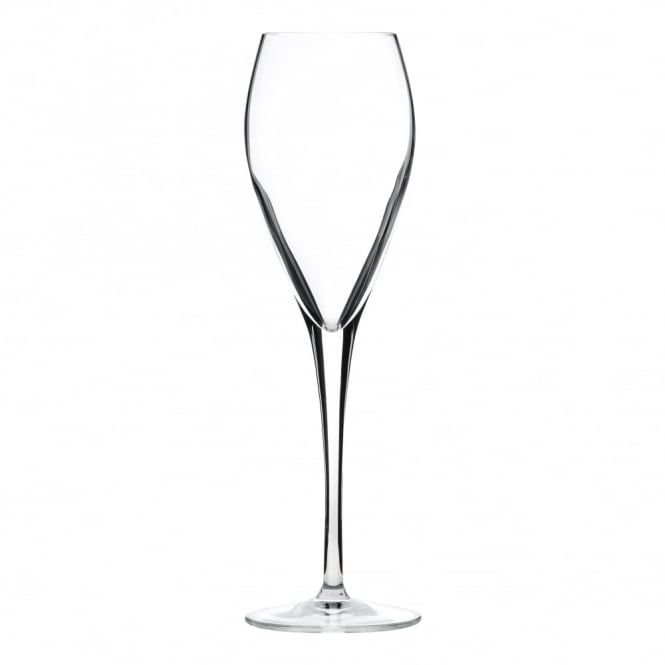 Luigi Bormioli Atelier Prestige Crystal Flute Glass 200ml | Pack of 24