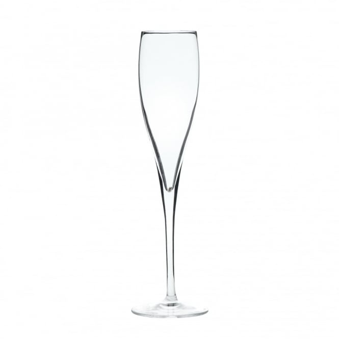 Luigi Bormioli Vinoteque Crystal Perlage Flute Glass 180ml | Pack of 24
