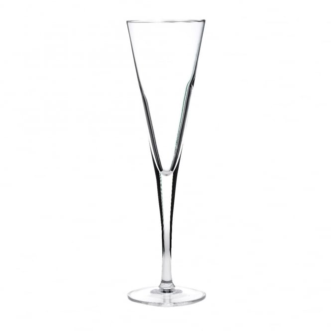 Luigi Bormioli Atelier Prestige Crystal Trumpet Flute Glass 165ml | Pack of 24