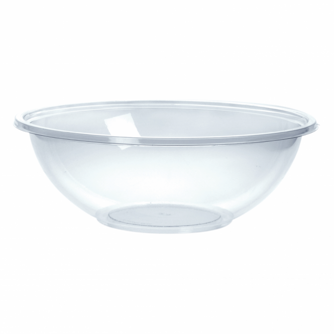 Remmerco Classic Medium Round Disposable Plastic Bowl 18.5cm 1000ml
